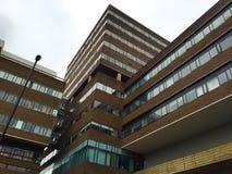 Högt löneförhöjningstudentbostadNewcastle universitet royaltyfria foton