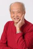 Högt personanseende för farfar Fotografering för Bildbyråer