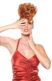 högt redaktörs- mode för begrepp Royaltyfria Bilder