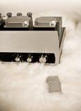högt system för ljudsignal trohet royaltyfria foton