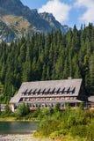 Högt Tatras hotell Fotografering för Bildbyråer