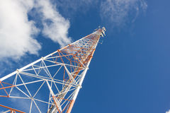 högt torn Arkivfoto