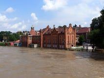 högt vatten Arkivbild