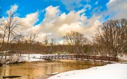 Högt vatten för vinter Royaltyfria Bilder