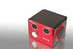 högtalare för spelare mp3 arkivfoton