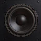 högtalare för tät utrustning för audio musikalisk upp Royaltyfri Bild