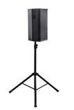 högtalare för tät utrustning för audio musikalisk upp Royaltyfri Foto