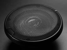 högtalare för tät utrustning för audio musikalisk upp Arkivbild