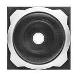 högtalare för tät utrustning för audio musikalisk upp Royaltyfria Bilder