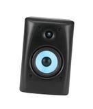 högtalare för tät utrustning för audio musikalisk upp Arkivfoton