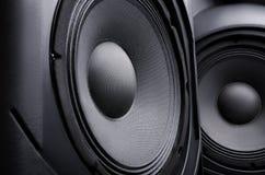 Högtalare musik arkivfoto