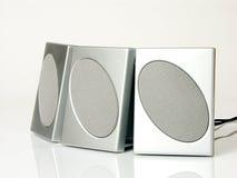 högtalare tre Arkivbilder