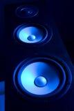 högtalarehögtalare Fotografering för Bildbyråer