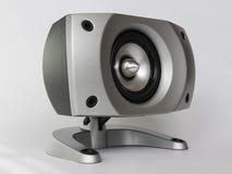 Högtalaremusikunder-bashögtalare ljud Arkivfoton