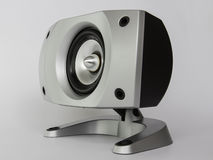 Högtalaremusikunder-bashögtalare ljud Fotografering för Bildbyråer