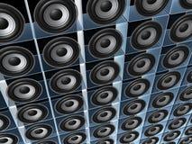 högtalarevägg Royaltyfri Bild