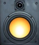 högtalarevägg royaltyfria foton