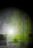 Högteknologisk design för abstrakt grunge Arkivbild