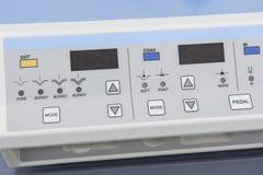 Högteknologisk medicinsk utrustning i sjukhus Arkivfoto