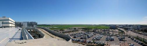Högteknologisk parkeringsplats Arkivfoton