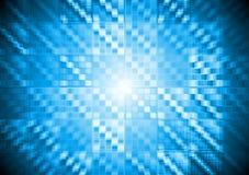 Högteknologisk rörelsebakgrund för abstrakt vektor Arkivbilder