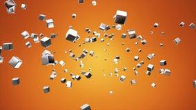 Högteknologiska kuber för TV-sändningflyg, apelsin som är företags, Loopable, 4K