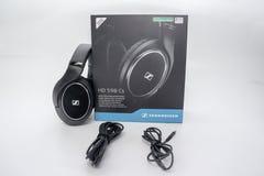 Högvärdig Sennheiser HD 598 Headphone royaltyfri bild