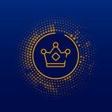 Högvärdig symbol/logo Konstillustration royaltyfri illustrationer