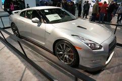 Högvärdiga Nissan GT-R Arkivfoto