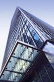 högväxt blockkontor Arkivfoto