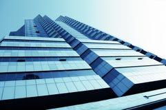 högväxt byggnader Arkivfoto