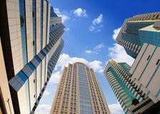 högväxt byggnader Royaltyfri Bild