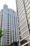 Högväxt byggnader i Toronto Fotografering för Bildbyråer