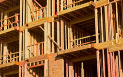 Högväxt byggnadskonstruktion Royaltyfri Bild