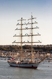 högväxt chopin fryderyk räddad ship Fotografering för Bildbyråer