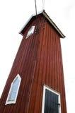 högväxt hus Arkivfoto