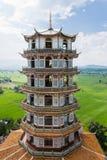 Högväxt kinesisk pagod Arkivfoton