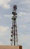 Högväxt mast för pelare Royaltyfria Foton