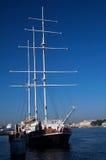 Högväxt masted seglingships Royaltyfri Fotografi