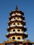 högväxt pagoda Royaltyfri Bild