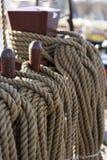 högväxt rigging ship Royaltyfri Fotografi