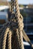 högväxt rigging ship Fotografering för Bildbyråer