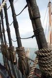 högväxt rigging ship Royaltyfri Bild