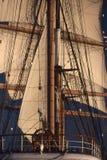 högväxt ship Arkivbilder