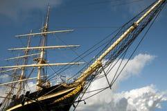 högväxt ship Royaltyfri Bild