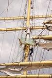 Högväxt skepp Arkivfoto