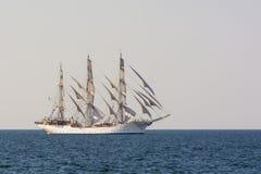 Högväxt skeppChristian Radich segling Royaltyfria Foton