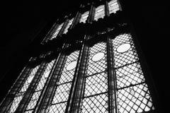högväxt universitetarfönster för gotisk stil Royaltyfri Fotografi