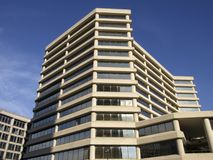 Högväxta Chevy Chase Building royaltyfria foton