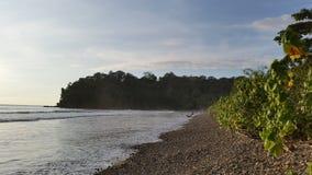 Högvatten på Playa Hermosa Royaltyfri Fotografi